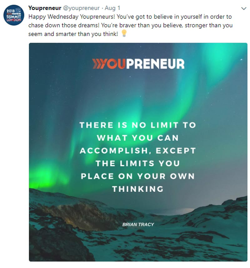 Youpreneur Twitter Quote