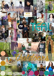 Teal moodboard by Laura Pearman Photography