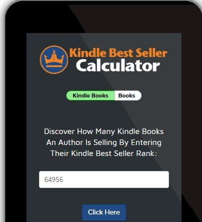 The Science to Becoming a Bestselling Author - Kindle Calculator