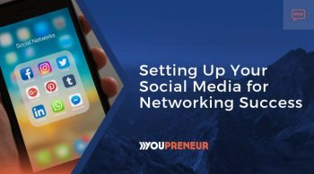 Setting up your social media for networking success
