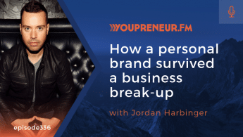 How a Personal Brand Survived a Business Break-Up, with Jordan Harbinger