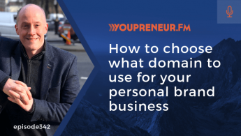 How to Choose What Domain to Use for Your Personal Brand Business
