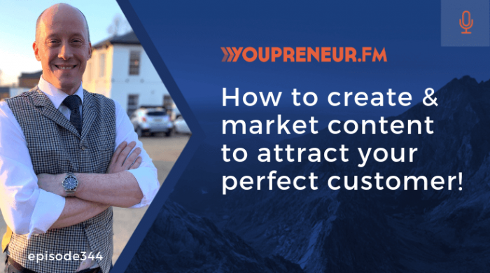 How to Create & Market Content to Attract Your Perfect Customer!