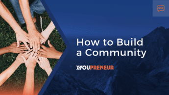 How to Build a Community