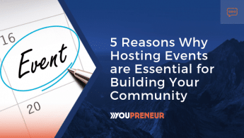 5 Reasons Why Hosting Events are Essential