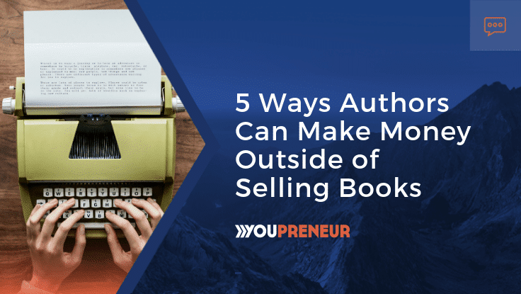 5 Ways Authors Can Make Money