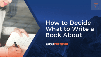 How to Decide What to Write a Book About