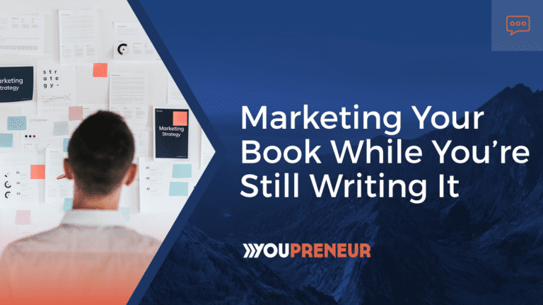 Marketing Your Book While You're Still Writing It