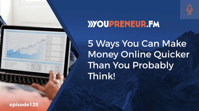 5 Ways You Can Make Money Online Quicker Than You Probably Think!