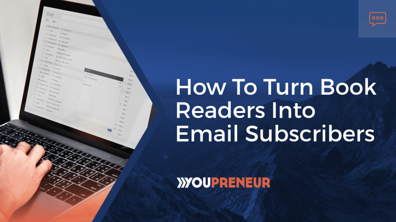 How to Turn Book Readers into Email Subscribers