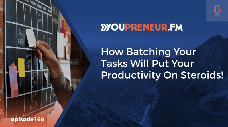How Batching Your Tasks Will Put Your Productivity on Steroids!