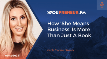 How She Means Business is More Than Just a Book, with Carrie Green