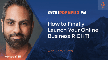 How to Finally Launch Your Online Business RIGHT, with Ramit Sethi