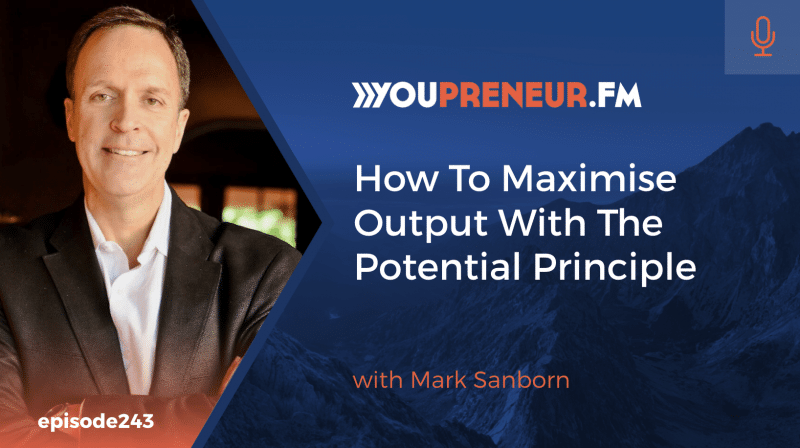 How to Maximize Output with the Potential Principle