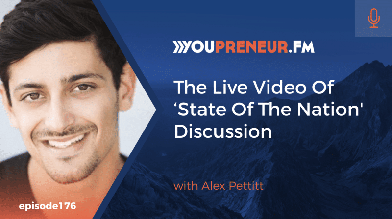 The Live Video 'State of the Nation' Discussion, with Alex Pettitt