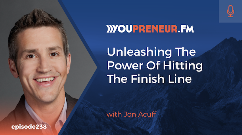 Unleashing the Power of Hitting the Finish Line, with Jon Acuff