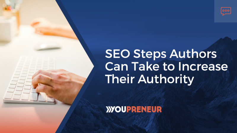 SEO Steps Authors can take to increase their authority