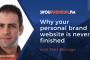 YOU308 – Why Your Personal Brand Website is Never Finished, with Matt Eldridge