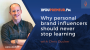 YOU307 – Why Personal Brand Influencers Should Never Stop Learning